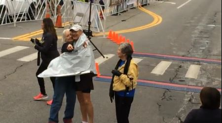 73-Year-Old Man Just Completed His 50th Marathon In 50 States!
