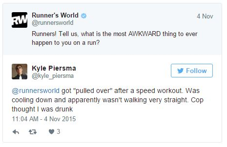 Runners Share Their Most Cringe Worthy Moments