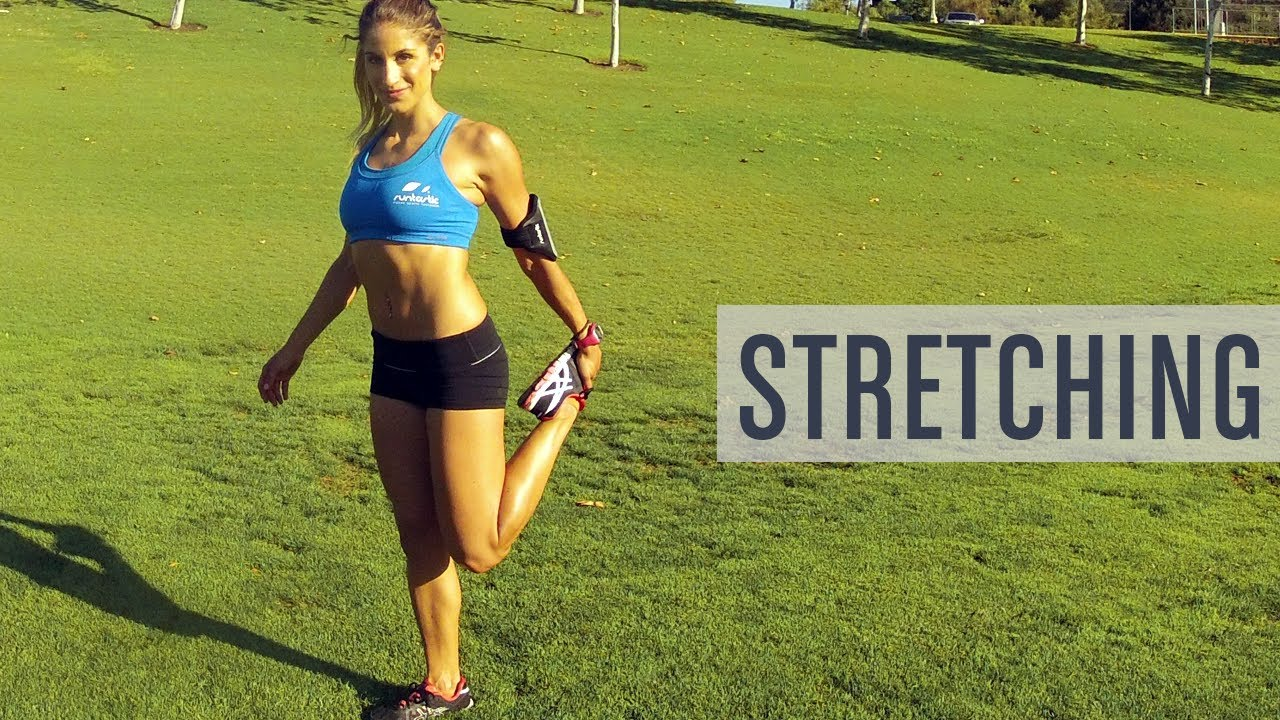4 Perfect Stretches For After Your Run