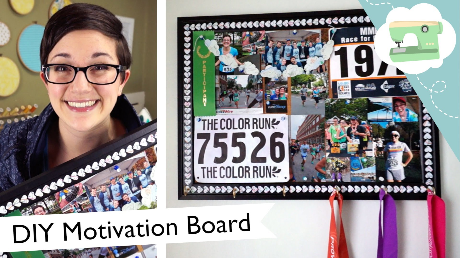 DIY Runners Inspiration Board