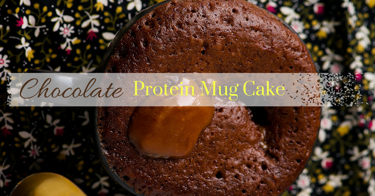 Protein Packed Chocolate Mug Cake