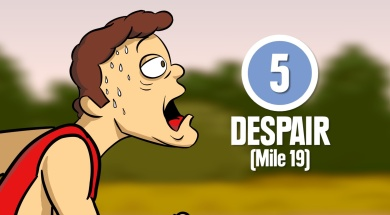 The Crazy But True Eight Stages of Marathon Running