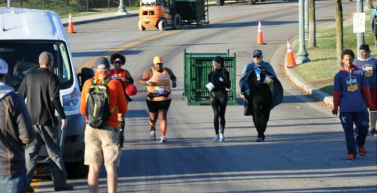 Woman Finished The Richmond Marathon One Hour After It Ended