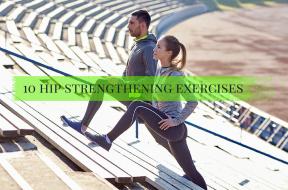 10 hip strengthening exercises for runners